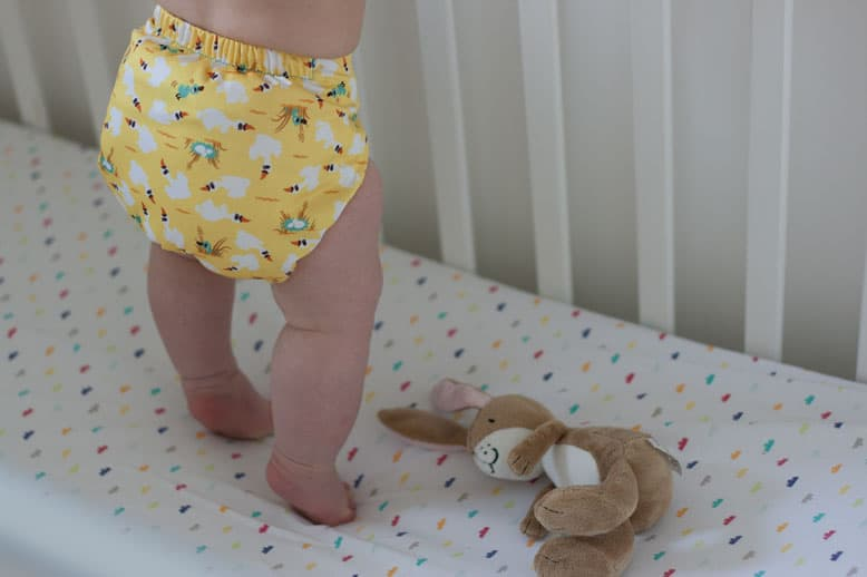 Using cloth nappies with baby number 2