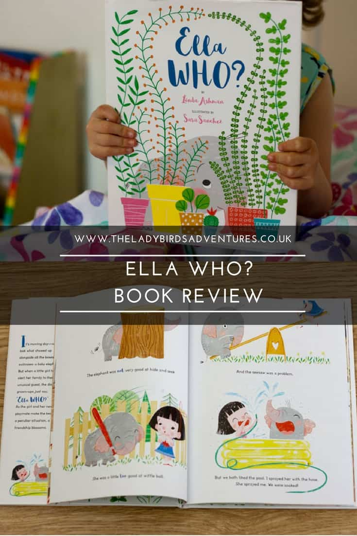 ella who? book review