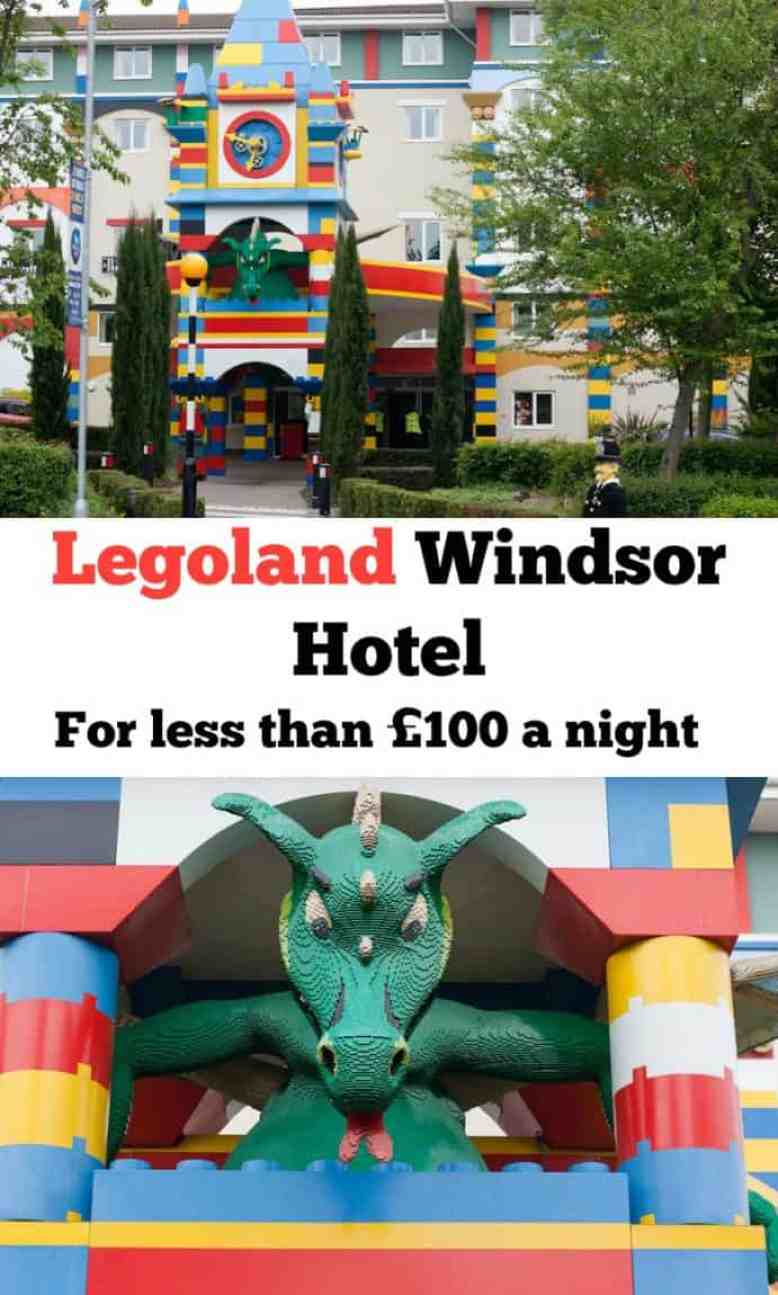 Legoland Windsor Hotel for less than £100 a night