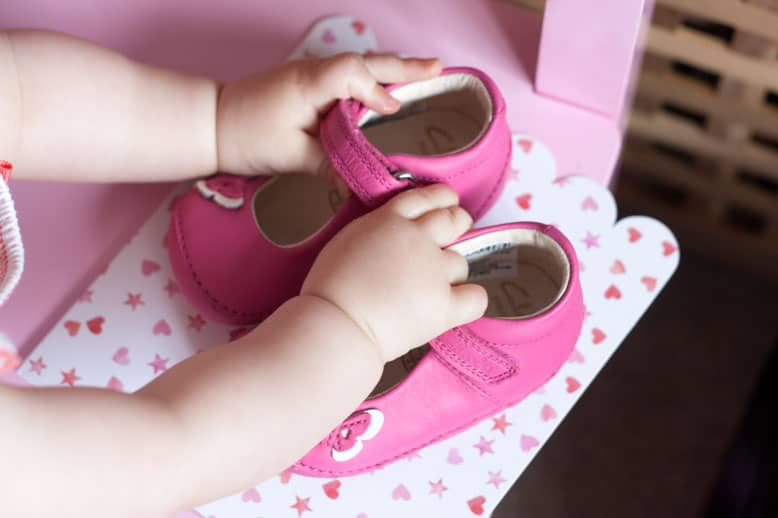 First shoes, first uniform and shiny things #littleloves