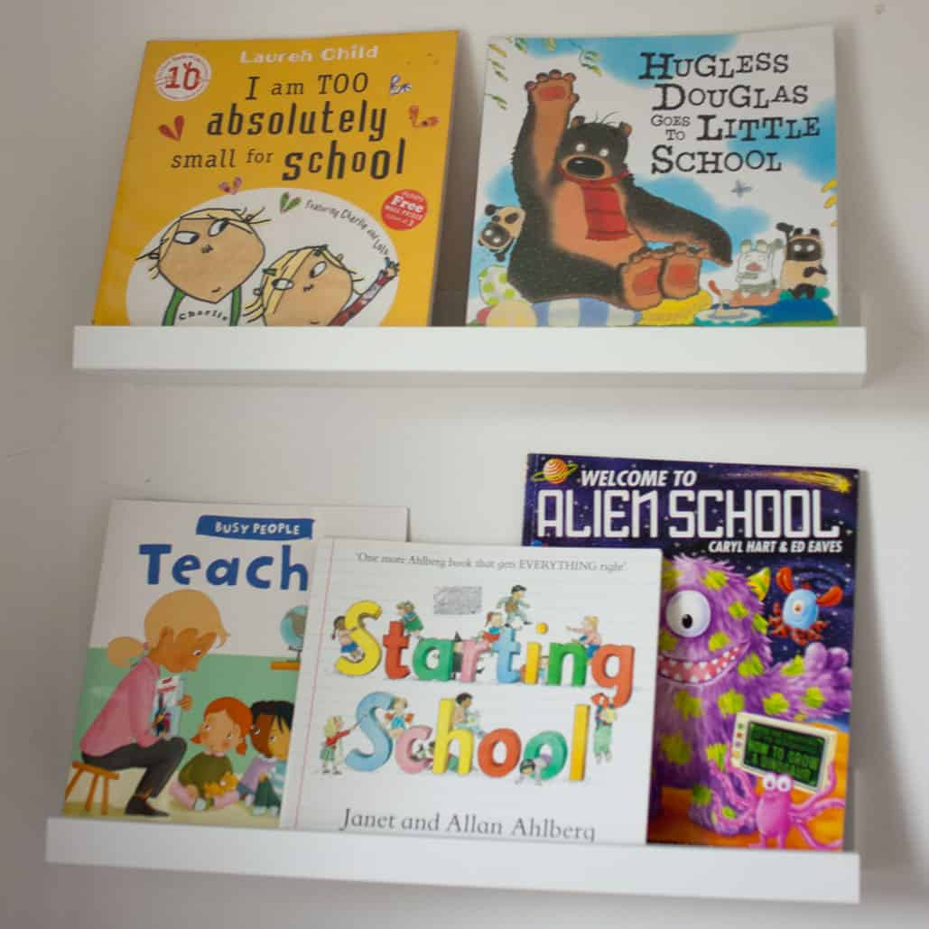 Books about starting school