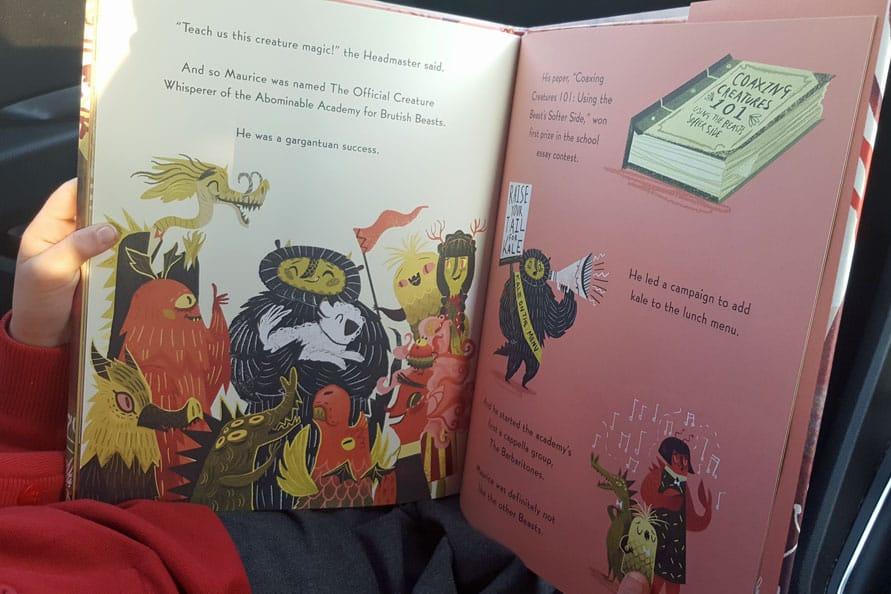 Ladybirds' love books – September