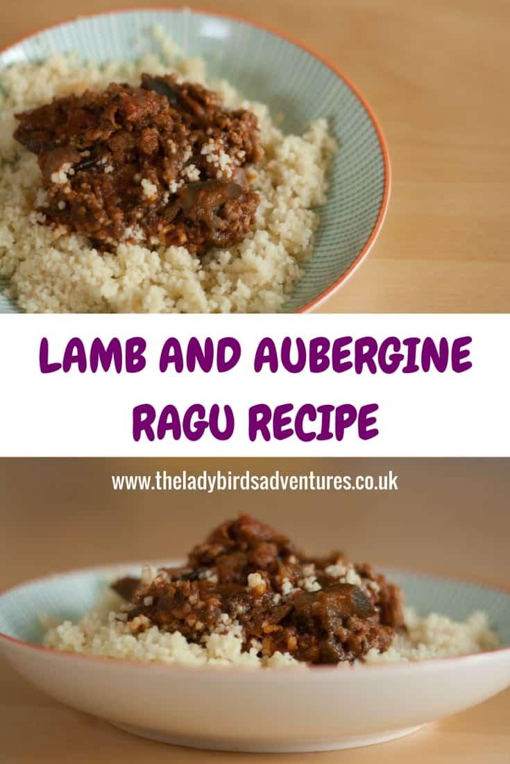 Lamb and Aubergine Ragu