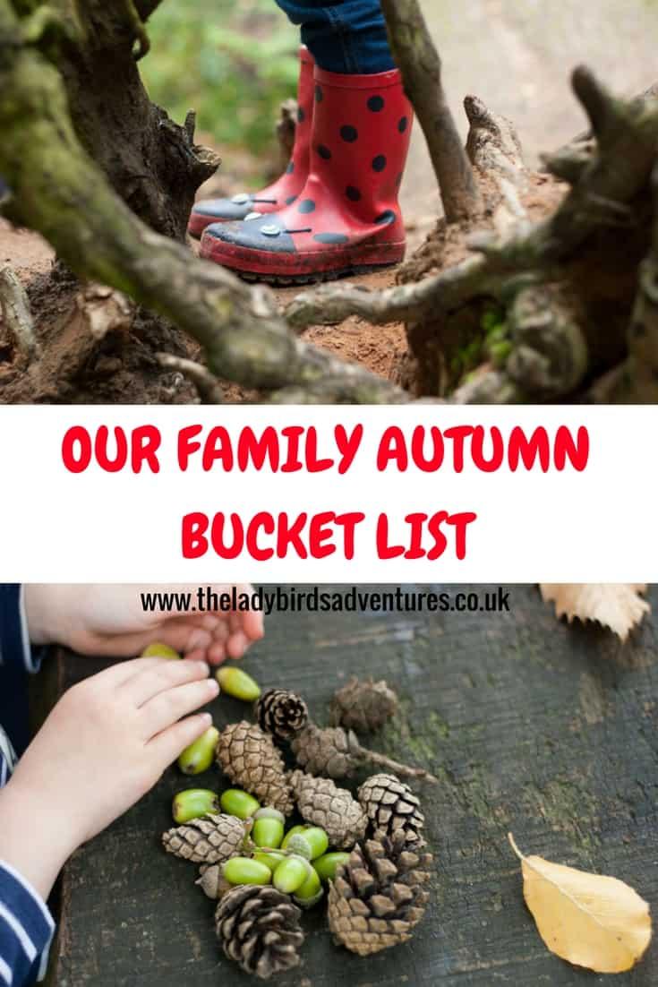 Our Family Autumn Bucket List