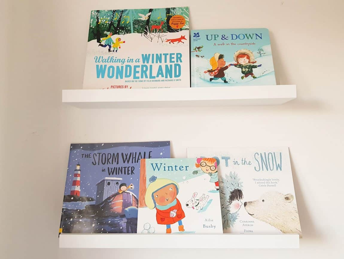 Winter picture books, sensory play and Delicious #littleloves