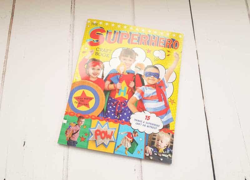 The superhero craft book review and giveaway