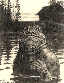 the vodyanoy sea creature