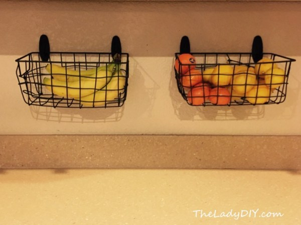Clutter-free Kitchen Counters