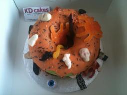 Halloween Giant Cupcake