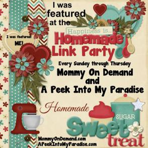 The Lady Prefers2Save Is Co-Hosting & Is A Featured Blogger On This Weeks Happiness Is Homemade Linky Party!