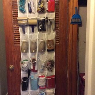 Organizational Tips: Hanging Utility Closet Organizer!
