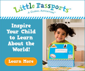 License Plate Find-It Game from Little Passports!