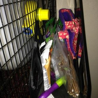 Hanging Pet Cage Organizer!