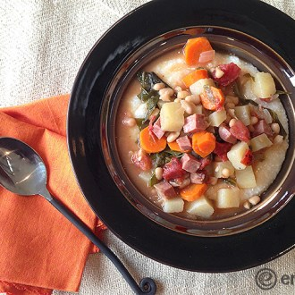 eMeals Ham, Kale & Navy Bean Stew Recipe!