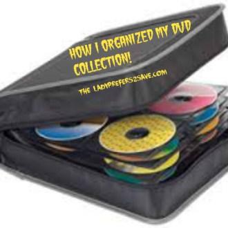 Organizational Ideas: DVD Binders!