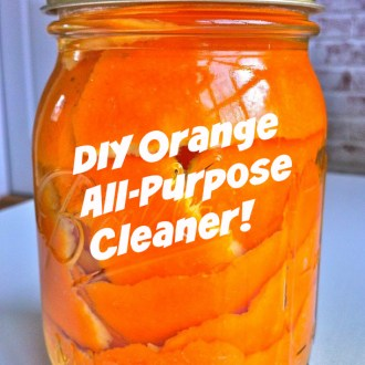 DIY Organic, Natural Orange Cleaner!