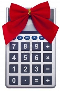 calculator-with-holiday-bow-christmas-budget-concept