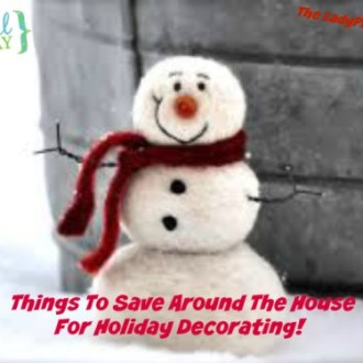 Free Last Minute Holiday Decorating Ideas!