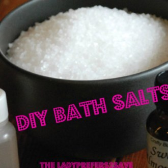 DIY Bath Salts Recipe!