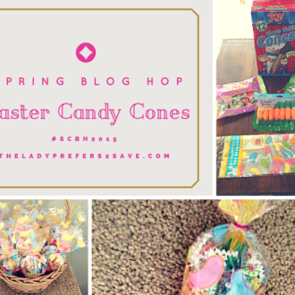 Easter Candy Cones!