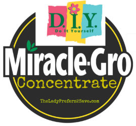 Make DIY Miracle Grow Concentrate, Only $0.35!