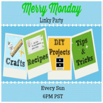 Welcome to the Merry Monday Link Party #50