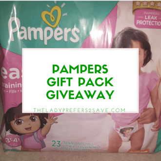 Pampers Gift Pack Giveaway!