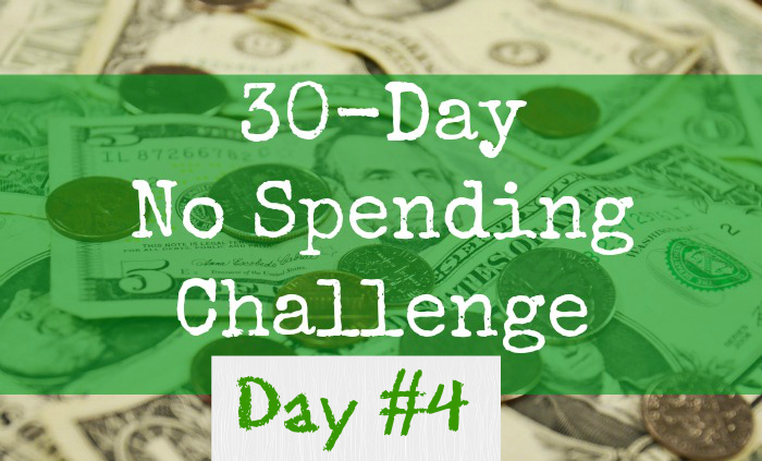 30-day-No-Spending-Challenge-day4