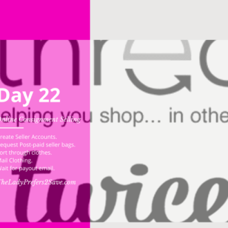 June No Spend Month Challenge: Day 22 (Selling on ThredUp & LikeTwice)