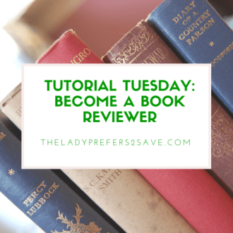 Tutorial Tuesday: How To Become A Book Reviewer!