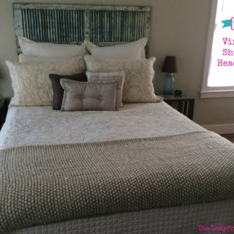 Tutorial Tuesday: Vintage Shutter Headboard!