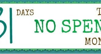 August's No-spend Month Challenge Starts Tomorrow!