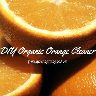 DIY Natural Orange Cleaner!