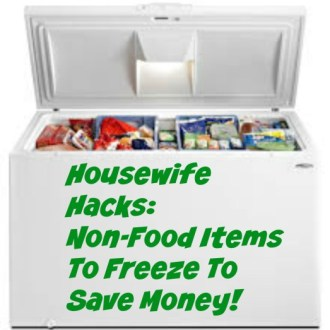 Non-Food Items To Freeze To Save Money!