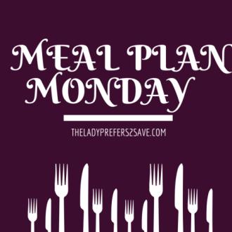 Meal Plan Monday (9/21/15-9/27/15)