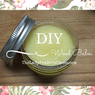 DIY Wooden Furniture Balm!