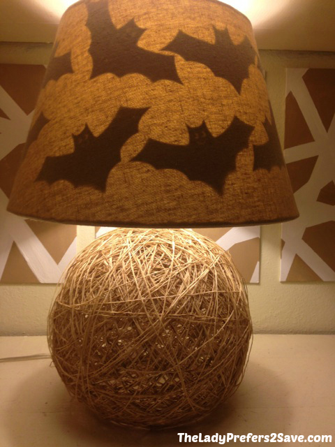 DIY Halloween Lamp Shade Silhouettes! - The LadyPrefers2Save