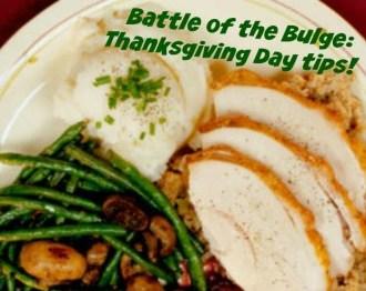 Thanksgiving Day Sensible Eating Tips!