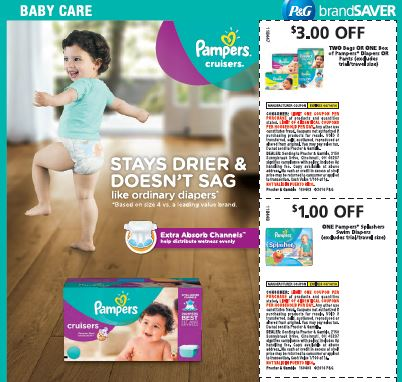 Pampers 4.3 Coupons