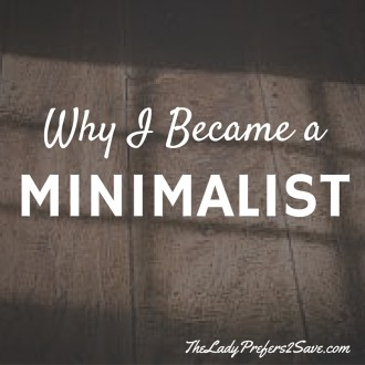 Why I became a Minimalist