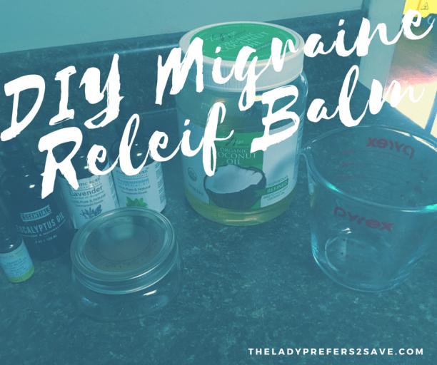 DIY migraine relief