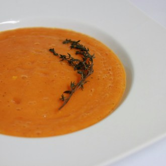Fall Allergy Fighting Sweet Potato Soup