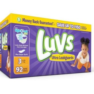 October Savings on Luv's Diapers