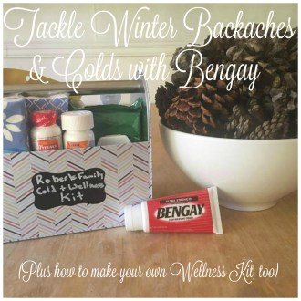 Tackle Winter Backaches & Colds with Bengay