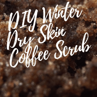 DIY Winter Dry Skin Coffee Scrub