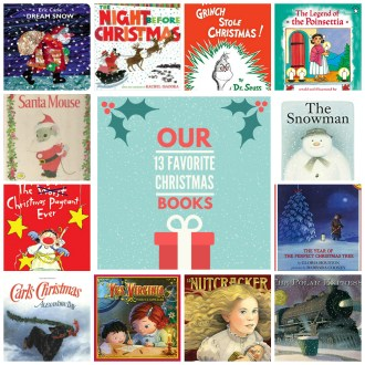 Our 13 Family Favorite Kids Books for Christmas