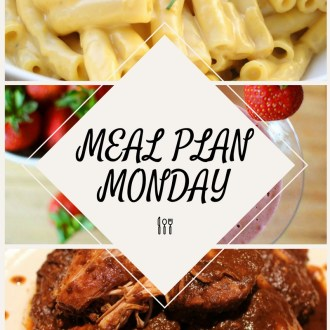 Meal Plan Monday (1/16/17-1/22/2017)