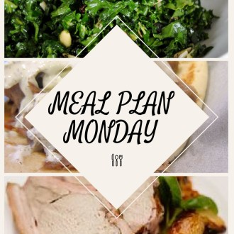 Monday Meal Plan (3/20-3/26/17)