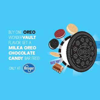 Kroger: New Oreo & Oreo Milka Deal!