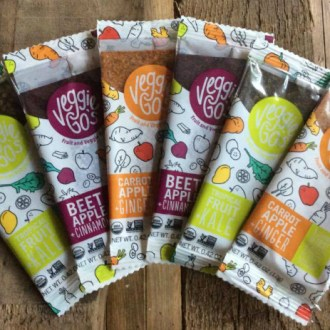 Healthy Snacking at Home with Veggie Go's!
